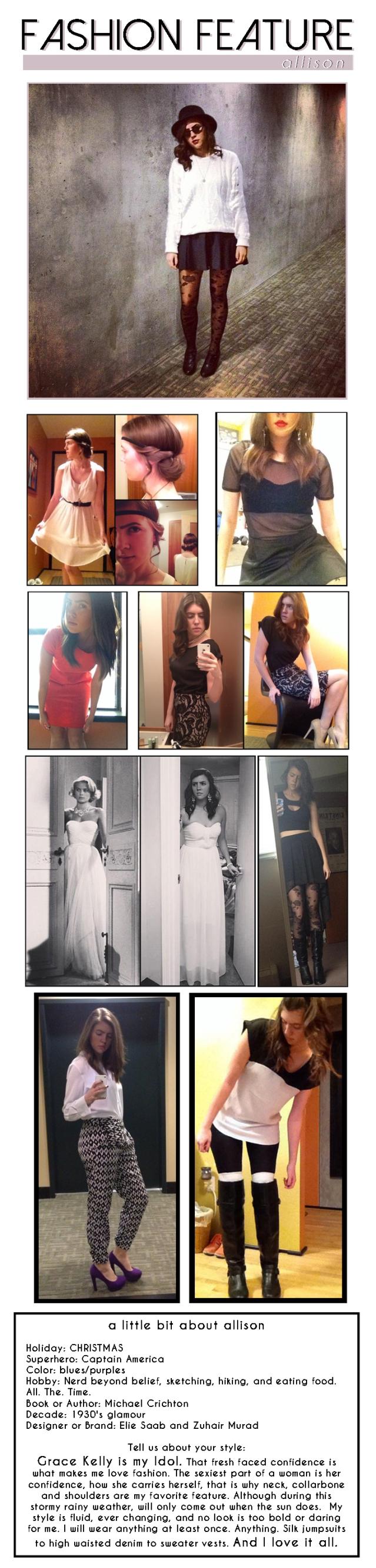 Fashion Feature - Allison